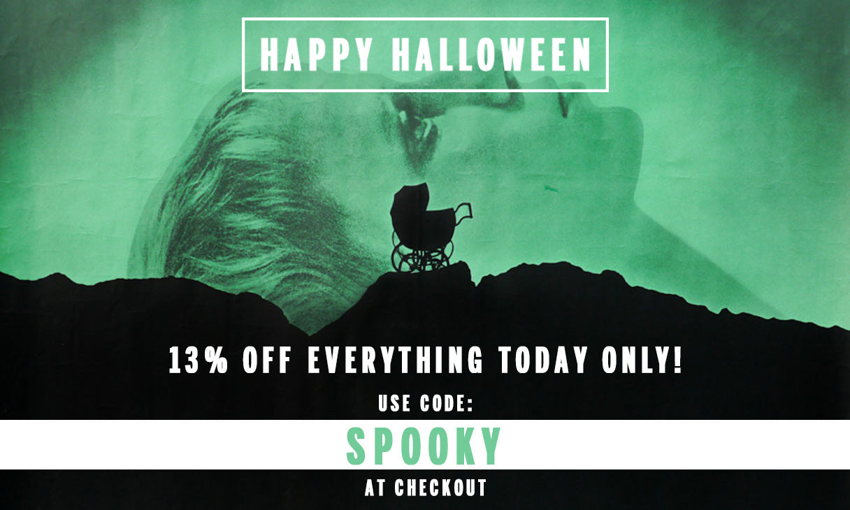 HAPPY HALLOWEEN 13% OFF TODAY ONLY