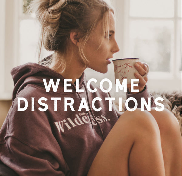 Welcome distractions by ART DISCO