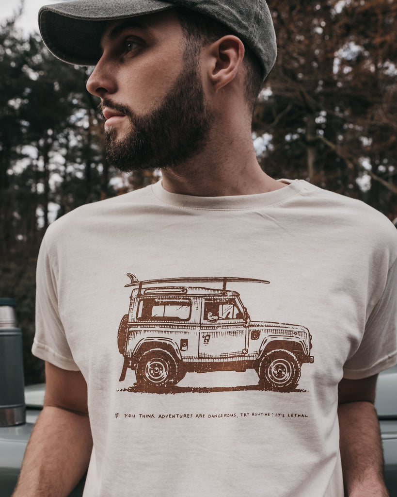 Adventure Mobile T-Shirt by ART DISCO Original Goods