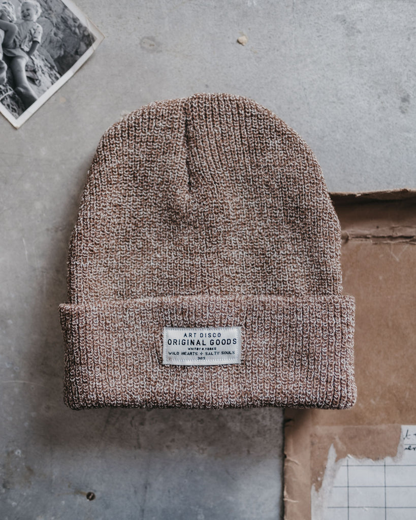 Fawn adventurer beanie by Art Disco Original Goods