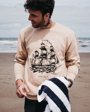 Hold Fast Ship Sand Sweatshirt by Art Disco