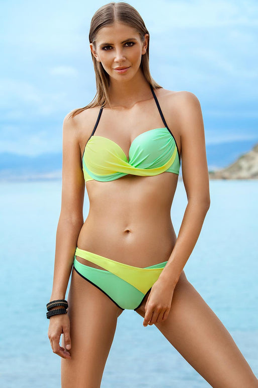 Ewlon Swimsuit two piece green 56661