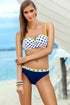Ewlon Swimsuit two piece navy blue 56664