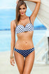 Ewlon Swimsuit two piece navy blue 56678