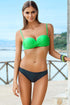 Ewlon Swimsuit two piece green 56686