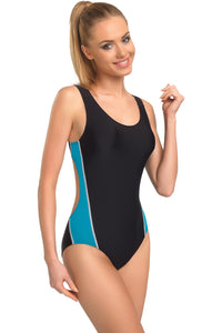 GWINNER Swimsuit one piece black 57230