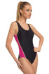 GWINNER Swimsuit one piece black 57232