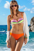 Ewlon Swimsuit two piece orange 60326