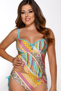 Ava tankini shirt green 75119