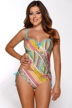 Load image into Gallery viewer, Ava tankini shirt green 75119