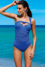 Load image into Gallery viewer, Lorin Swimsuit one piece blue 77777