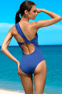Lorin Swimsuit one piece blue 77777