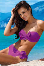 Load image into Gallery viewer, Lorin Swimsuit two piece violet 77780