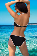 Load image into Gallery viewer, Lorin Swimsuit two piece black 77785