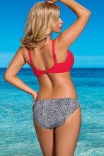 Load image into Gallery viewer, Lorin Swimsuit two piece red 77787