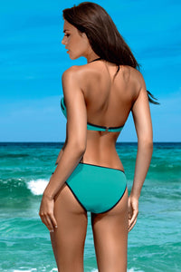 Lorin Swimsuit two piece green 77792