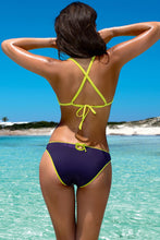 Load image into Gallery viewer, Lorin Swimsuit two piece yellow 77795