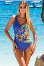 Load image into Gallery viewer, Lorin Swimsuit one piece blue 82059