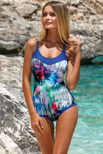 Load image into Gallery viewer, Lorin Swimsuit one piece blue 82060