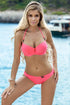 Ewlon Swimsuit two piece pink 82066
