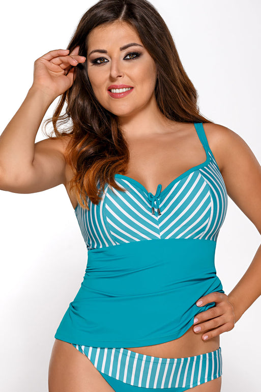 Ava tankini shirt green 82452