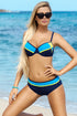 Ewlon Swimsuit two piece navy blue 93340
