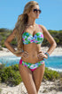 Ewlon Swimsuit two piece green 93345