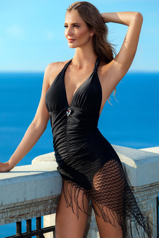 Ewlon Swimsuit one piece brown 93352