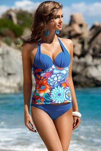 Ewlon Swimsuit two piece blue 93357