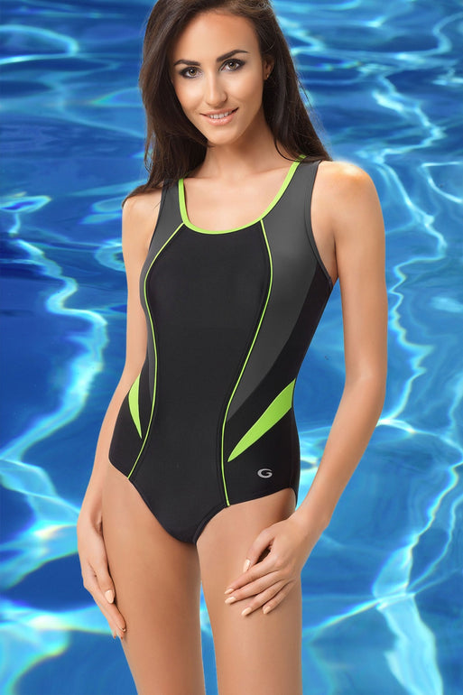 GWINNER Swimsuit one piece black 112962