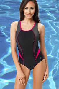 GWINNER Swimsuit one piece black 112963