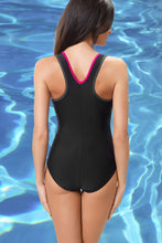 Load image into Gallery viewer, GWINNER Swimsuit one piece black 112963