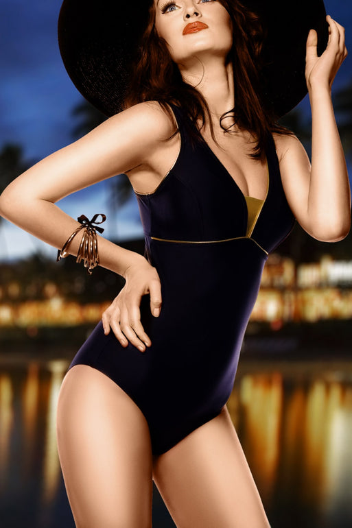 GWINNER Swimsuit one piece black 112972