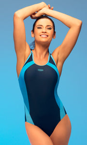 GWINNER Swimsuit one piece blue 41240