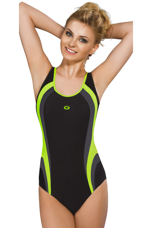 GWINNER Swimsuit one piece black 112934