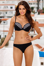 Load image into Gallery viewer, Lorin Swimsuit two piece black 113451