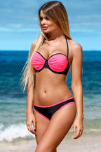 Load image into Gallery viewer, Lorin Swimsuit two piece pink 113453