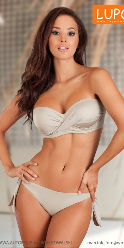 Lupo Line Swimming bra grey 113866