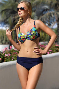 Ewlon Swimsuit two piece navy blue 114458