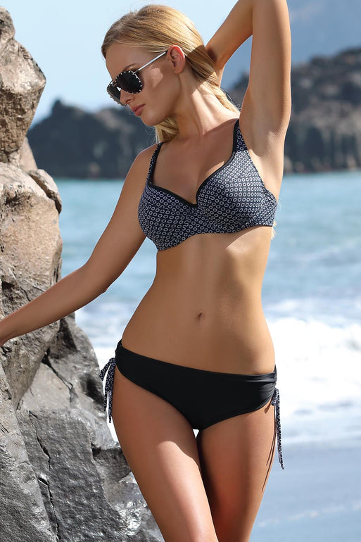 Ewlon Swimsuit two piece black 114471