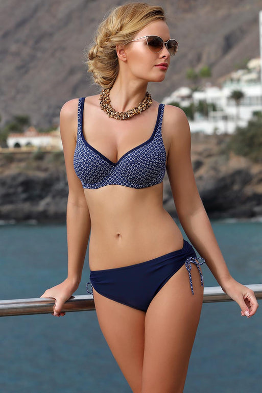 Ewlon Swimsuit two piece navy blue 114472