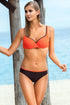 Ewlon Swimsuit two piece orange 114480