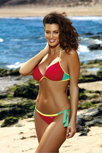 Marko Swimsuit two piece red 116496