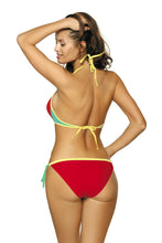 Load image into Gallery viewer, Marko Swimsuit two piece red 116496