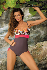 Marko Swimsuit one piece brown 56879