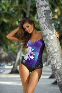 Marko Swimsuit one piece violet 80115