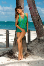 Load image into Gallery viewer, Marko Beach tunic green 56853