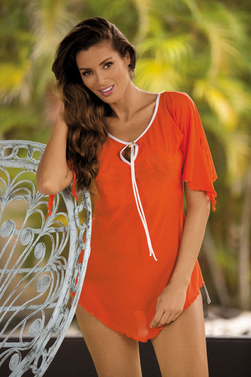 Marko Beach tunic orange 56763