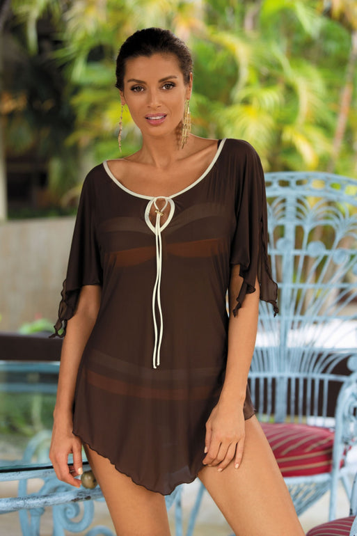 Marko Beach tunic brown 56761