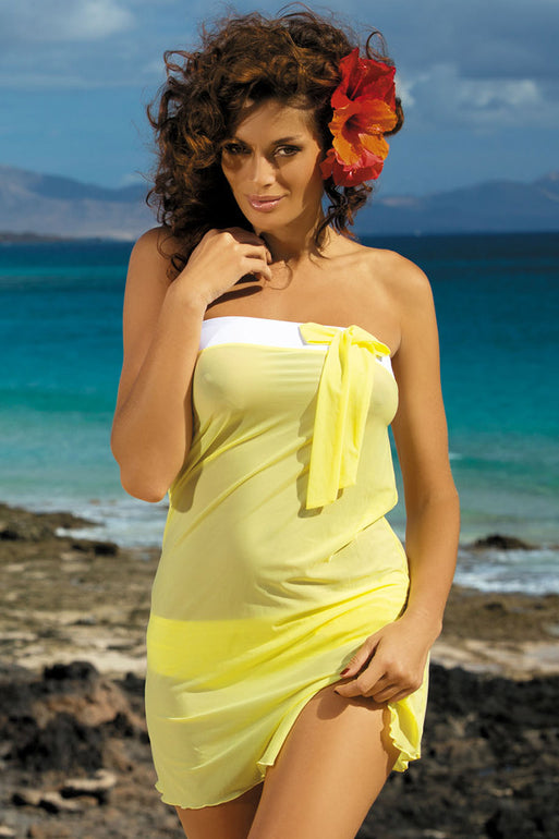 Marko Beach tunic yellow 30380